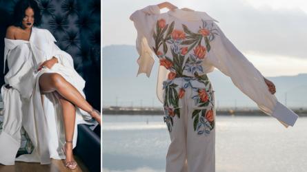 Ca sĩ Rihanna mặc thiết kế của Nguyễn Công Trí
