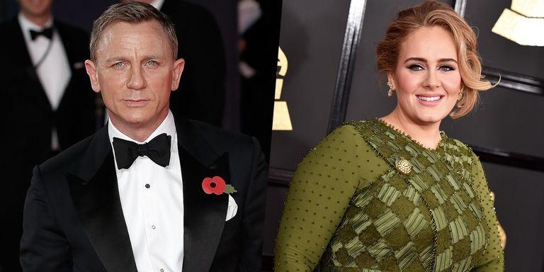 Daniel Craig và Adele trong bộ phim Skyfall (2012)