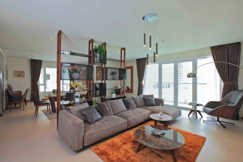Vẻ đẹp trong những căn hộ đắt giá tại tòa tháp Brilliant