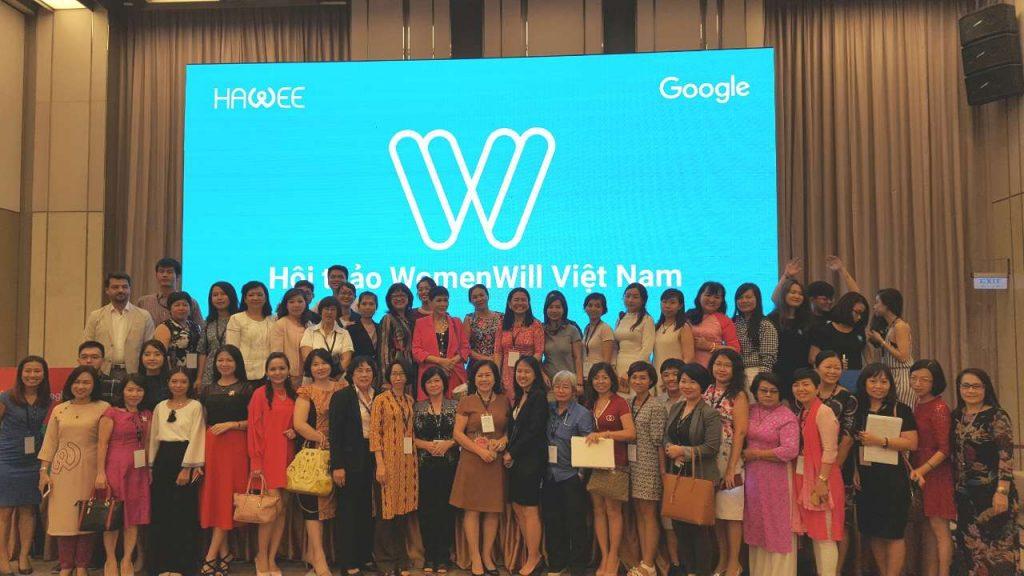 Hội thảo Women Will: Các giải pháp kỹ thuật số dành cho nữ doanh nhân từ Google