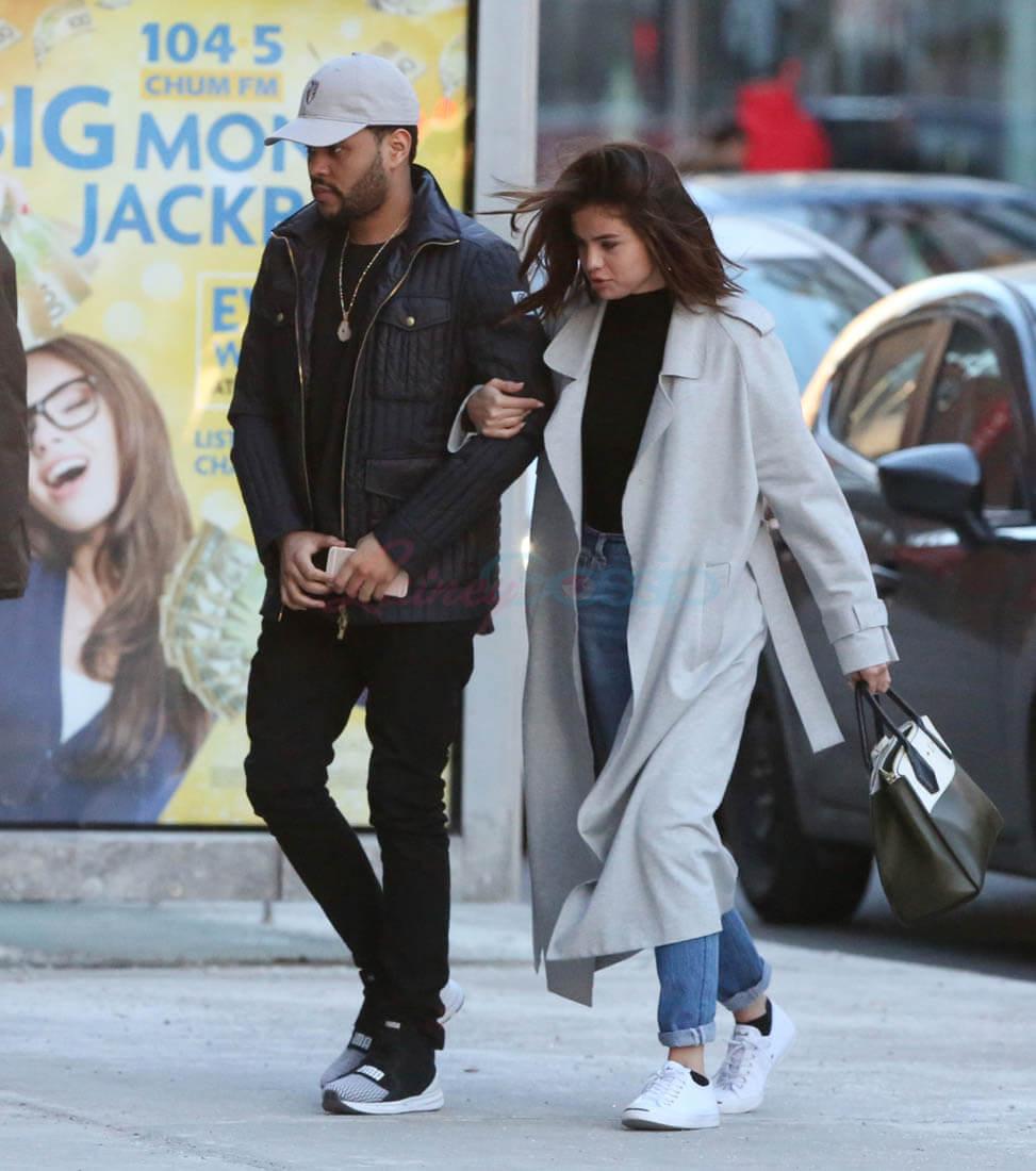 Hình ảnh hẹn hò của Selena và The Weeknd