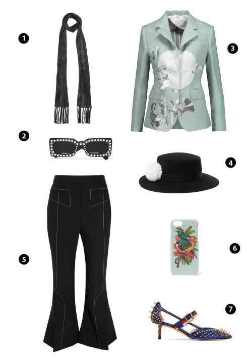 Bottega Veneta/ Gucci/ Thom Browne/ Eugenia Kim/ Ellery/ The Case Factory Gucci