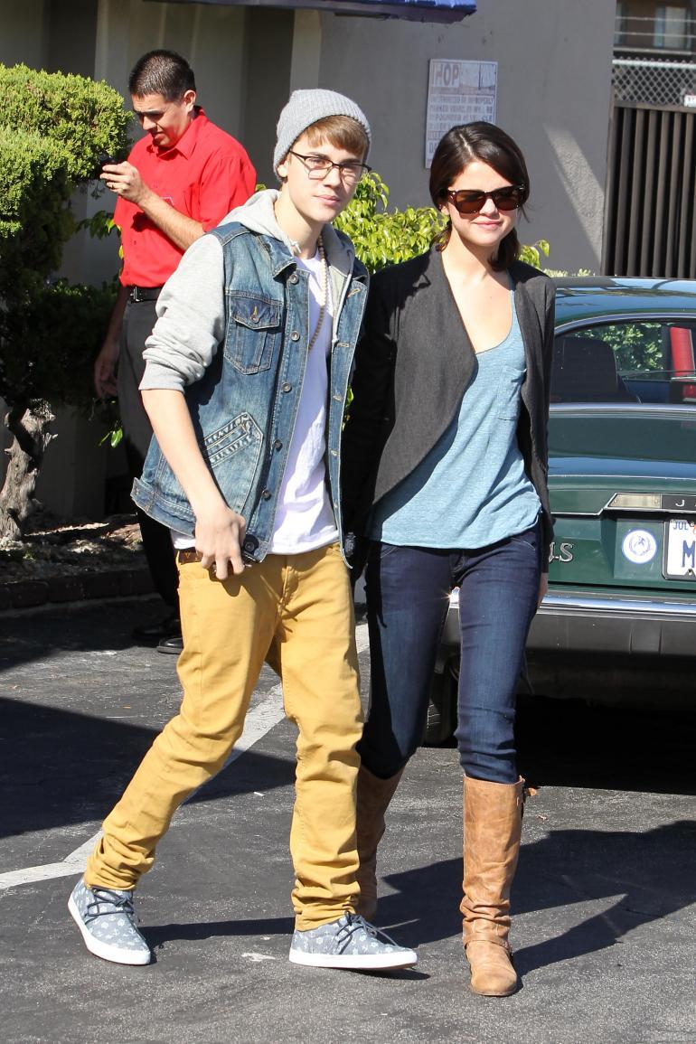 Selena và Justin thuở còn mặn nồng