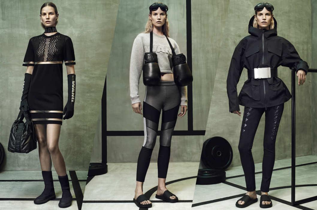 BST Alexander Wang x H&M đã quá thành công khi áp dụng tinh thần sporty chic