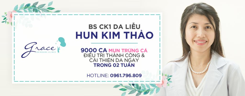 Bác sĩ CK1 Da Liễu Hun Kim Thảo – Grace Skincare Clinic