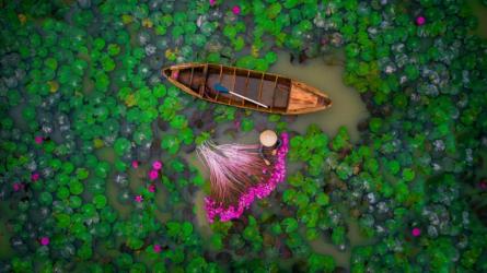 Hình ảnh Việt Nam đứng Nhì tại Drone Photography Contest 2017