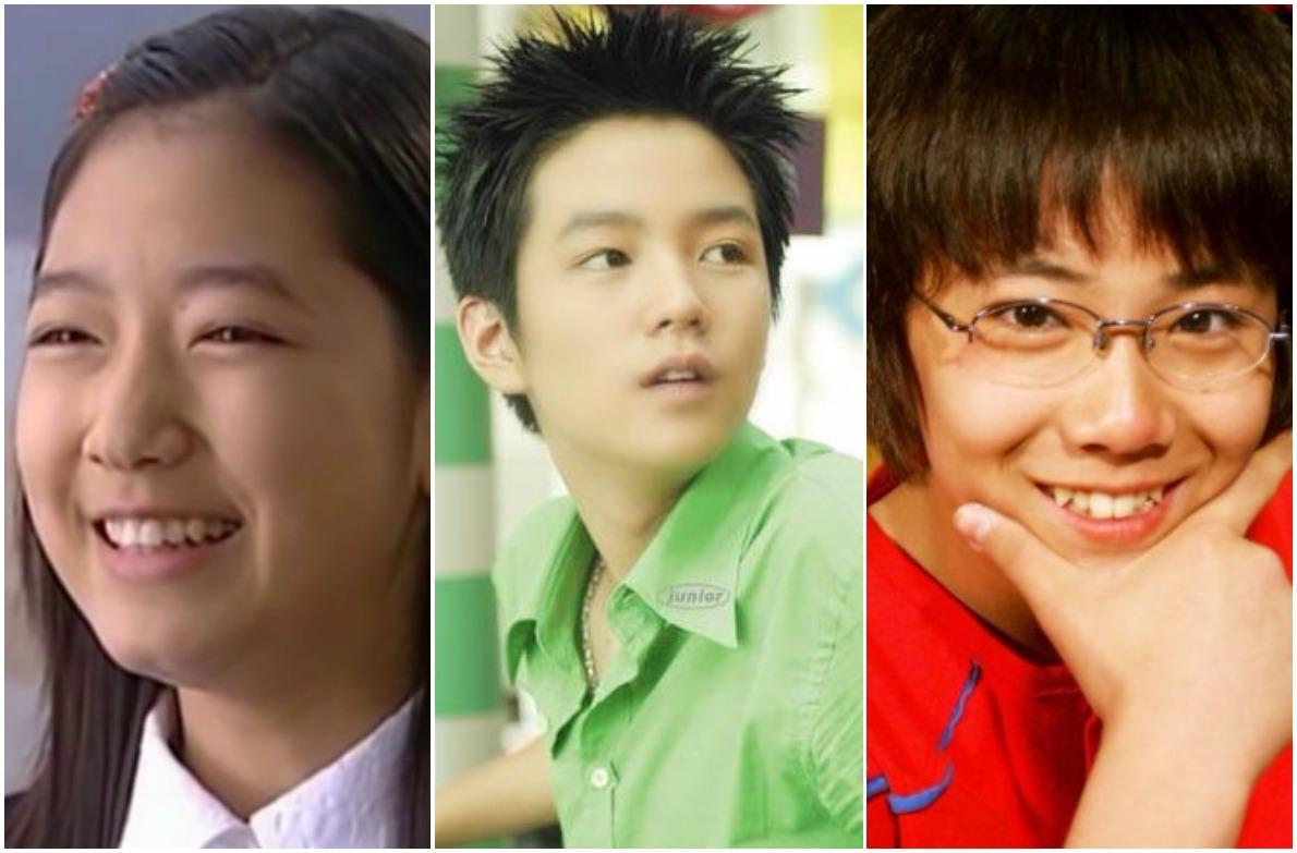 Park Shin Hye, Jang Geun Suk, Lee Hong Ki là những gương mặt nhí quen thuộc với khán giải phim truyền hình từ những năm 2000.