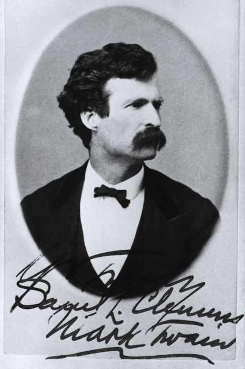 Mark Twain viết cho người vợ yêu dấu Olivia Langdon trước khi cưới