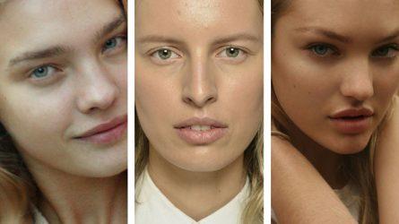 Khám phá nhan sắc mộc của 12 người mẫu thế giới
