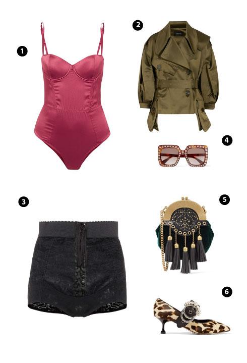 Fleur Du Mal/ Simone Rocha/ Dolce & Gabbana/ Gucci/ Miu Miu/ Miu Miu
