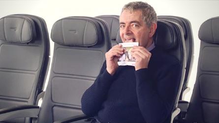 Mr.Bean xuất hiện hài hước trong video gây quỹ từ thiện của hãng hàng không British Airways