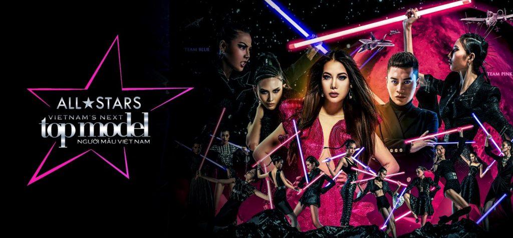 Viet Nam Next Top Models 2017 - All Stars