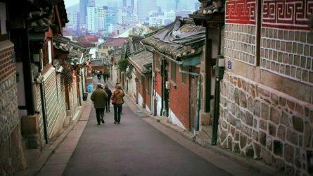 Du lịch Hàn Quốc - Thong dong ở làng cổ Bukchon Hanok