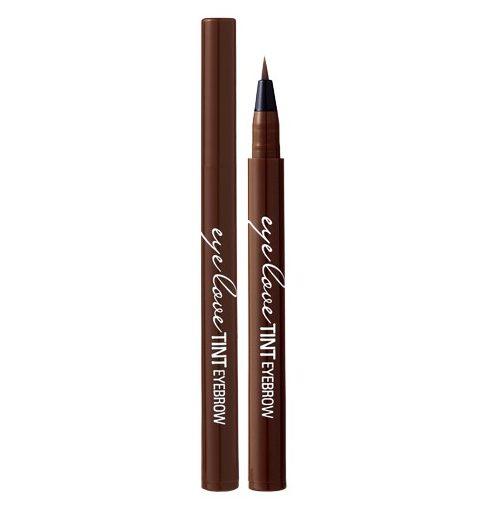 Thêm một sự lựa chọn khác cho bạn chính là Banila Co. Eye Love Tint Eyebrow Deep brown có màu nâu hơi sáng dành cho những cô nàng có tóc màu sáng.