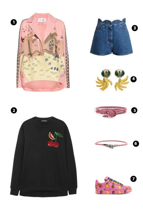 Valentino/ Dolce & Gabbana/ Valentino/ Dolce & Gabbana/ Bottega Veneta/ Bottega Veneta/ Dolce & Gabbana
