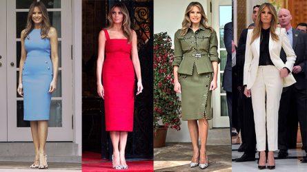 200 ngày thời trang của đệ nhất phu nhân Melania Trump