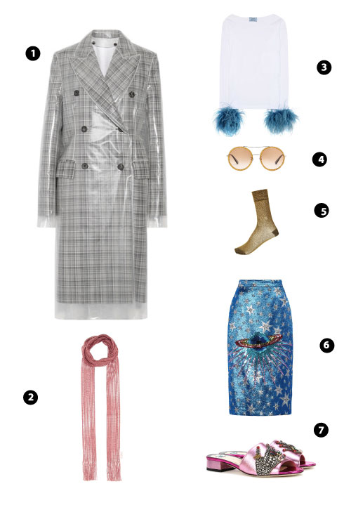 Calvin Klein/ Chloé/ Prada/ Gucci/ Isabel Marant/ Gucci/ Gucci