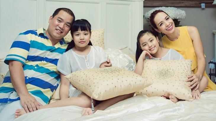 Tổ ấm của nhạc sĩ Minh Khang và cựu người mẫu Thúy Hạnh.