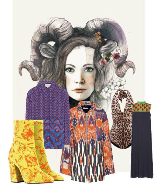 Trang phục mùa Thu của Ma Kết