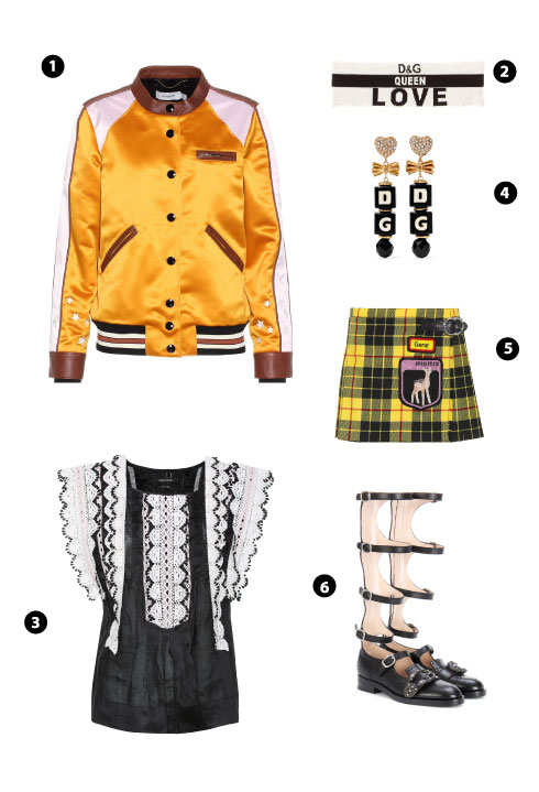 Coach/ Dolce & Gabbana/ Isabel Marant/ Dolce & Gabbana Miu Miu/ Gucci