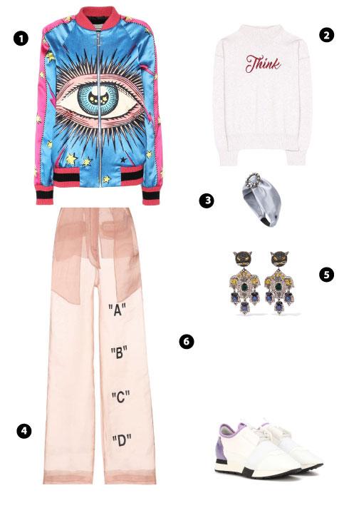 Gucci/ Isabel Marant, Étoile/ Miu Miu/ Off-Whiter/ Gucci/ Balenciaga