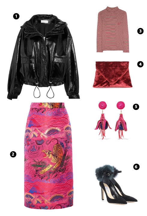 Wanda Nylon/ Gucci/ 81hours/ Dries Van Noten/ Mercedes Salazar/ Jimmy Choo