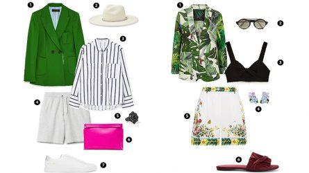 ELLE Style Calendar: Công thức phối đồ sành điệu với Blazer + Bermuda shorts (14/8-20/8)