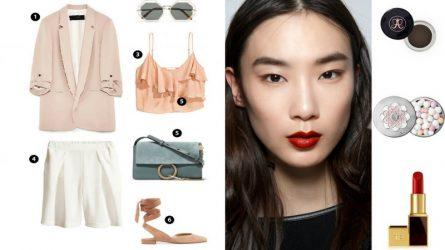 ELLE Beauty Calendar: gợi ý trang điểm cá tính khi diện Blazer + Bermuda shorts (14/8-20/8)