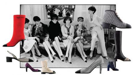 Giày hai màu - Vẻ đẹp cổ điển trở thành xu hướng thời trang 2017