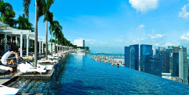 Marina Bay Sands Hotel - Infinity Pool