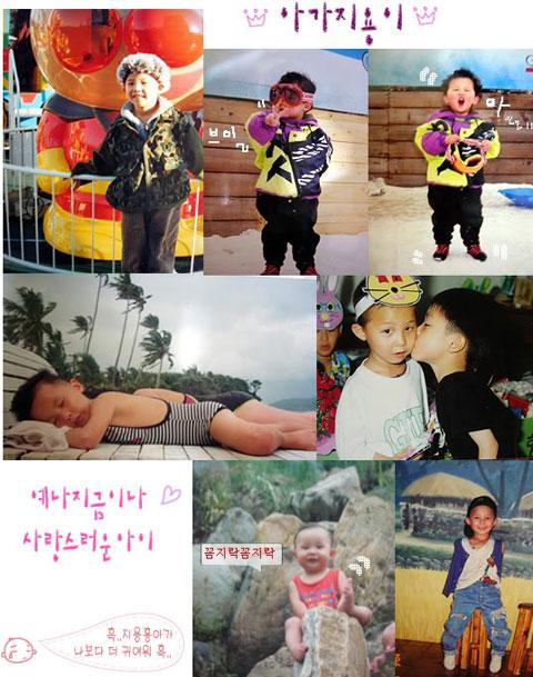 G-Dragon khi còn là mộ thành viên của nhóm nhạc Little RooRa