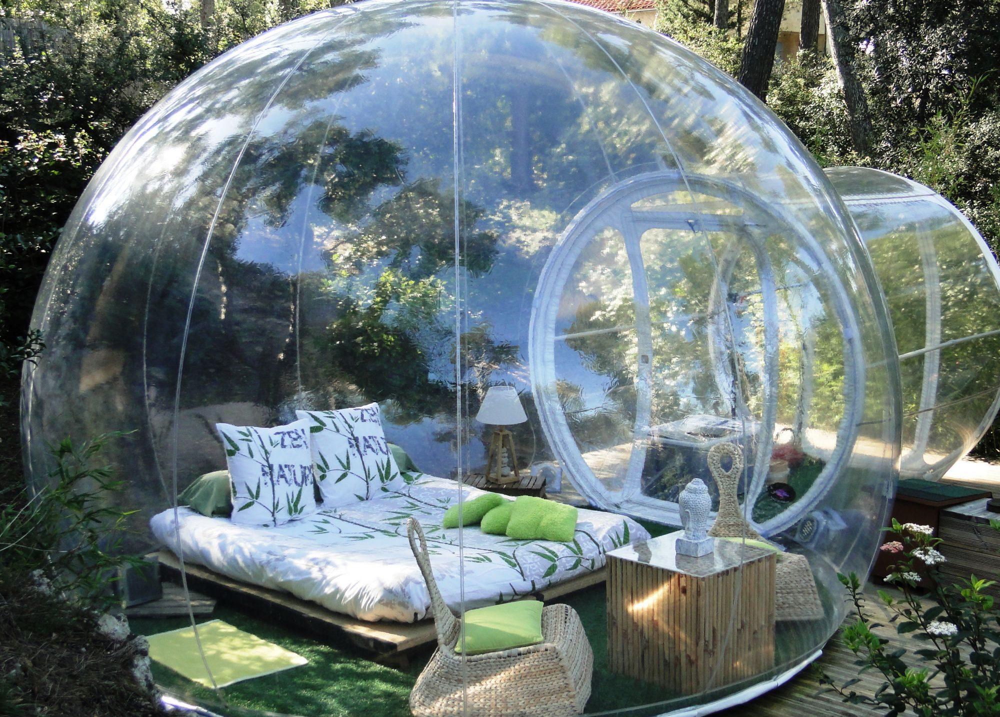 """Trải nghiệm tuyệt vời được sống cùng thiên nhiên với khách sạn """"bong bóng"""" Attrap Reves."""