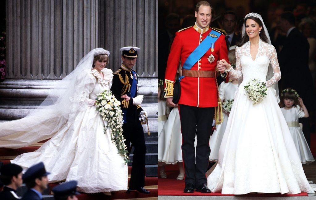 Tất nhiên, trong một đám cưới Hoàng gia truyền thống, hai nàng công chúa đều vô cùng xinh đẹp trong chiếc váy cưới màu trắng tinh khôi.