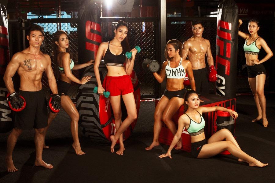 Lan Khuê ngồi tiếp ghế giám khảo cuộc thi Muscle Contest Việt Nam