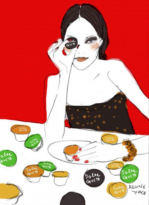 Bản sketch cô nàng cá tính của Dzũng Yoko