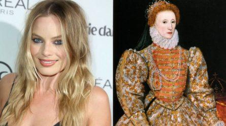 Không thể nhận ra Margot Robbie trong vai nữ hoàng Elizabeth I