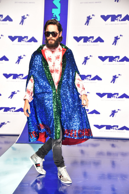 Nam ca sĩ Jared Leto vẫn trung thành với nhãn hàng ruột Gucci