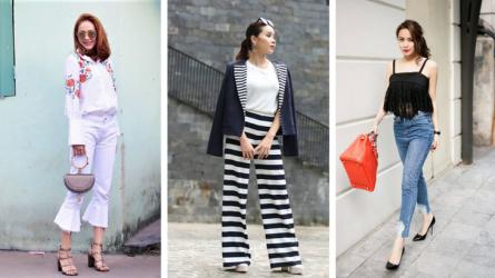 Cuối tháng 8 khép lại với street style màu sắc của các fashionista Việt
