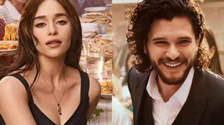 Emilia Clarke và Kit Harington xuất hiện trong phim quảng cáo nước hoa