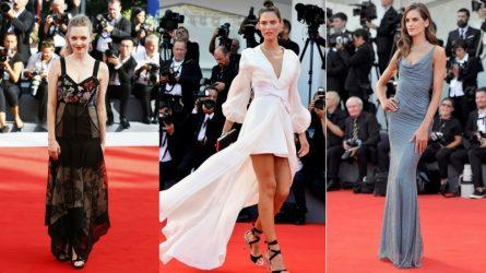 Liên hoan phim Venice 2017 mở màn với thời trang thảm đỏ ấn tượng