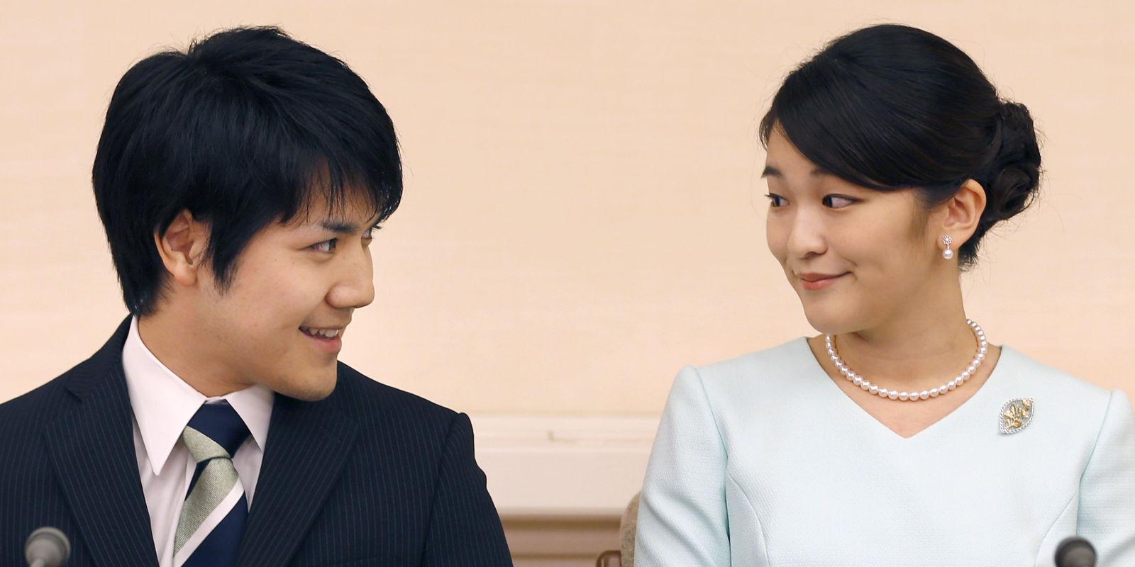 Lễ cưới hoàng gia lãng mạn như ngôn tình giữa công chúa Mako và Kei Komuro
