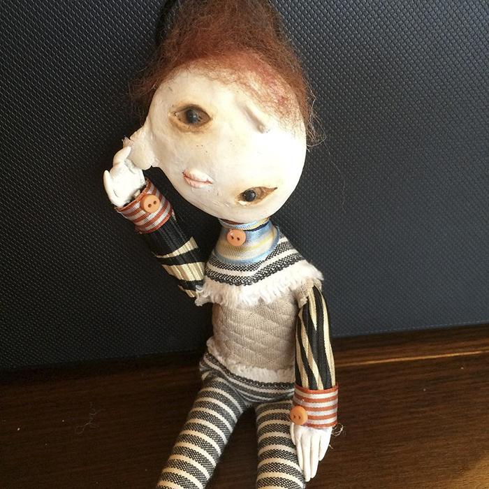 Thiên tài điêu khắc 12 tuổi với gu thẩm mỹ dị biệt