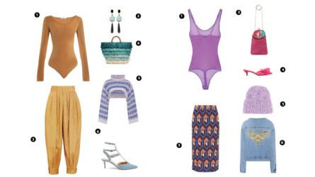 ELLE Style Calendar: Phá cách cùng áo bodysuit (11/9 – 17/9)