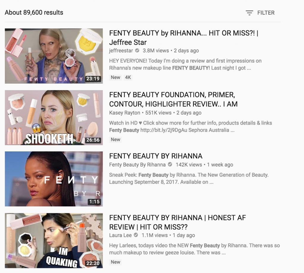 4 điểm khiến Fenty Beauty của Rihanna đánh quật cộng đồng làm đẹp