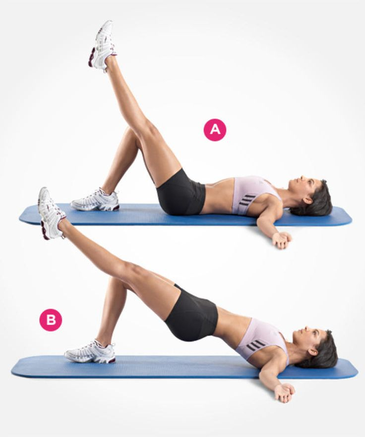 single-leg hip raise