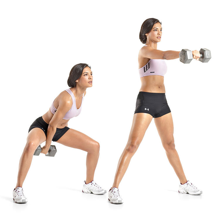 Single-Arm Dumbbell Swing