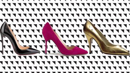 5 mẫu giày cao gót kinh điển của làng thời trang thế giới