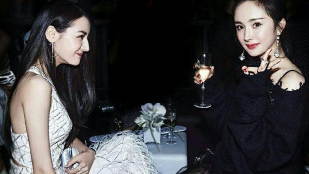 Phạm Băng Băng và dàn sao Hoa Đán chúc mừng sinh nhật Dương Mịch