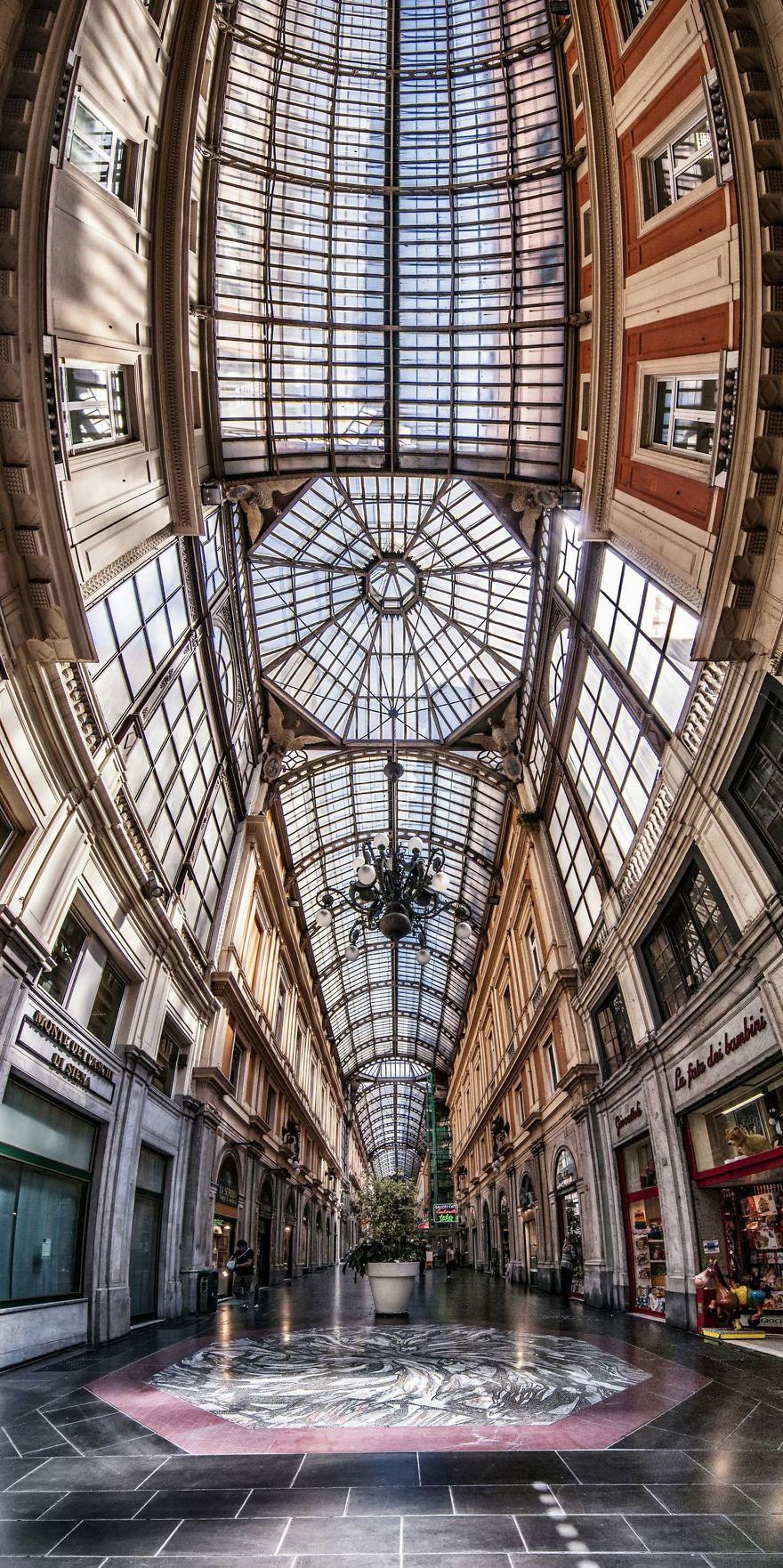 Nghệ thuật kiến trúc đẹp kì vĩ qua phép màu của Panorama
