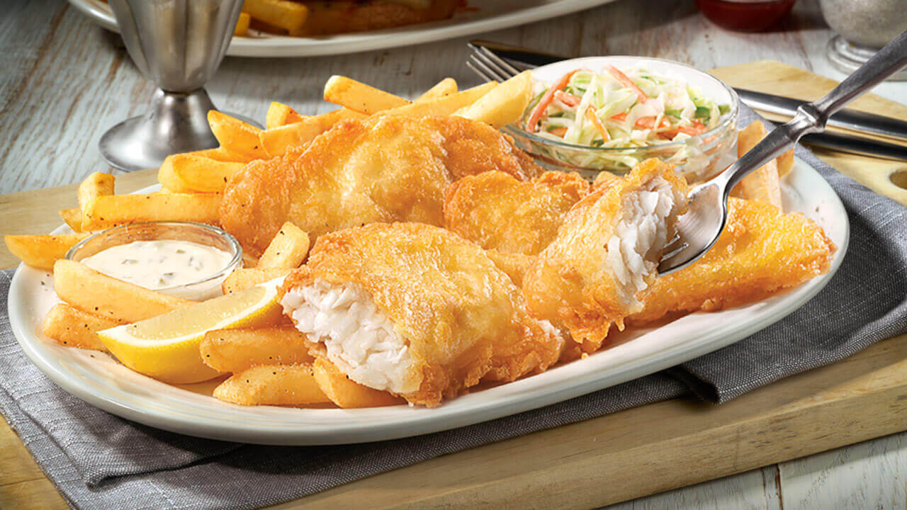 Fish and chips, Anh